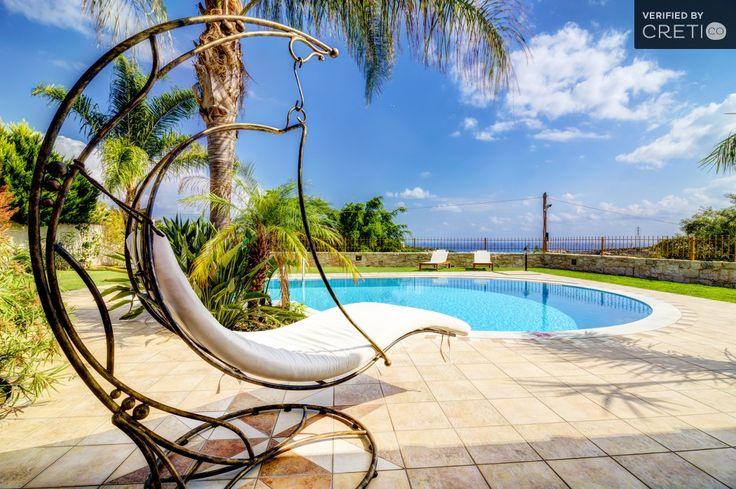 Relaxing comfortable villa in a unique natural scenery, Piskopiano | Cretico