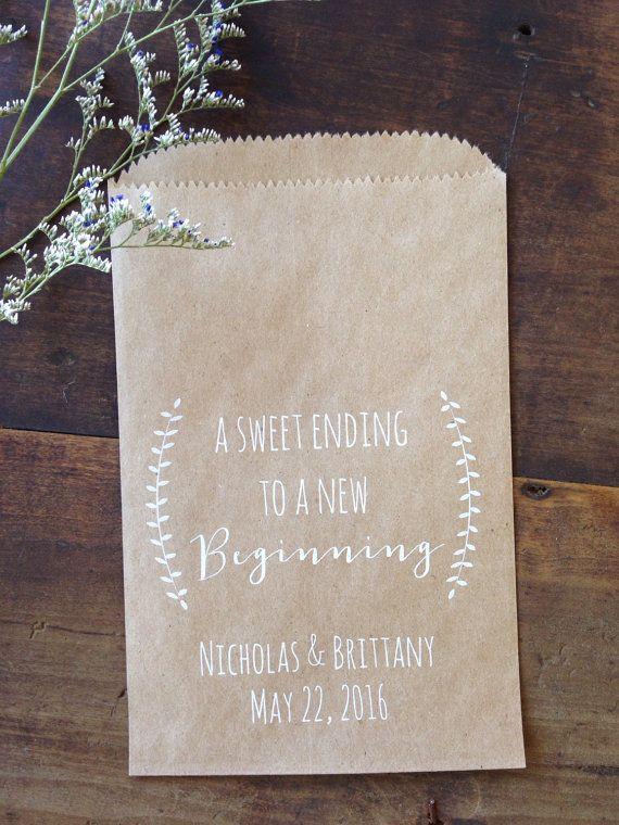 Bruiloft Cookie tassen gepersonaliseerde Laurel door DetailsonDemand