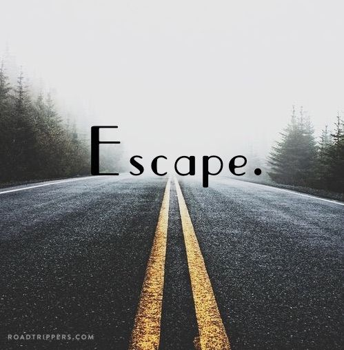 This is the way I feel! It's time for a road trip to anywhere!