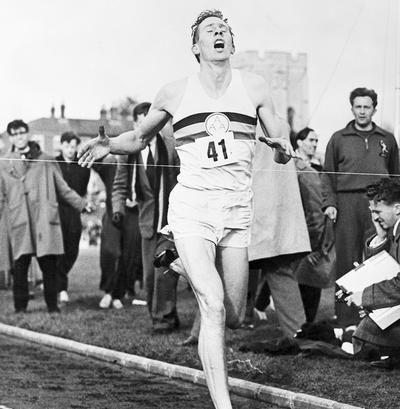 Roger Bannister, First to Break the 4-Minute Mile Barrier, Dies at 88  https://www.runnersworld.com/roger-bannister/roger-bannister-first-to-break-the-4-minute-mile-barrier-dies-at-88?utm_content=2018-03-04