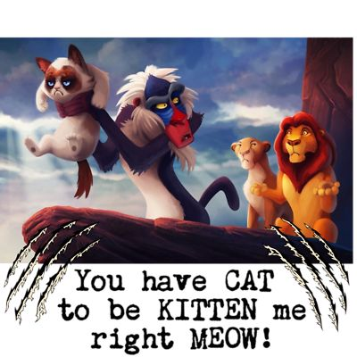 What if Grumpy cat was in a Disney Movie?