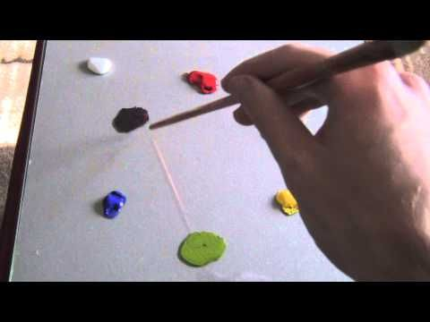 Color-Mixing Simplified #01 - Acrylic Painting Lesson - YouTube