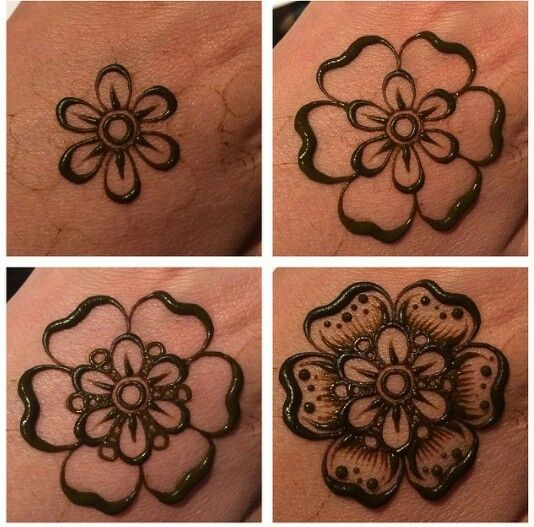 Making perfect henna Design