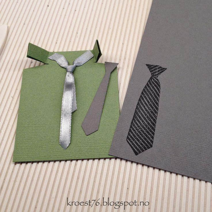 Turtorial, bordkort, guttekonfirmant, skjorte