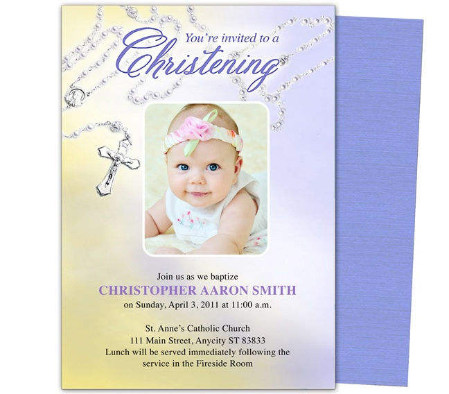 21 best printable baby baptism and christening invitations images on baby baptismchristening templates beads baby baptism invitation template stopboris Images