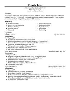 resume examples janitorial examples janitorial resume