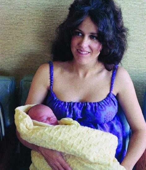 """On Jan. 25, 1971, Jefferson Airplane's Grace Slick and Paul Kantner become the proud parents of a baby girl they name """"God.""""  After a little thought, they renamed her """"China"""". China Kantner is now an actress and was formerly an MTV personality.  Happy Birthday China!!!"""