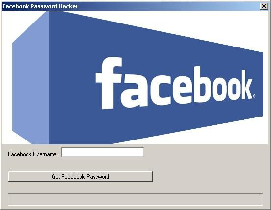 Facebook Password Hack Tool