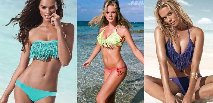 Spring/Summer 2012Trend: Neon Fringe Swimwear!