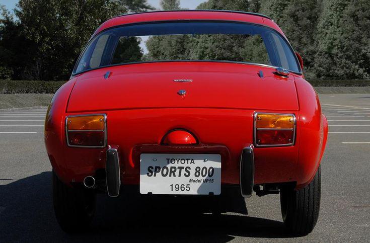 Toyota Sports 800, 1965.
