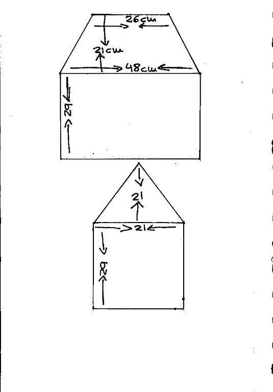 Sal funda maquina de coser CASITA. | Aprender manualidades es facilisimo.com