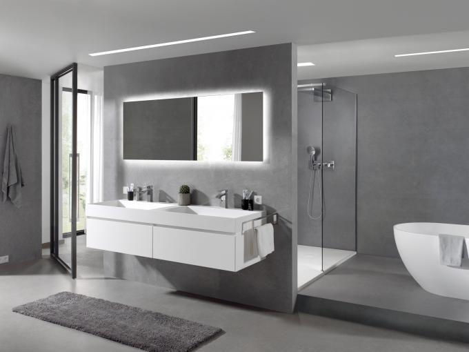 X2o Badkamer Ervaringen : X o balmani mitra badkamermeubel wit mat met solid surface