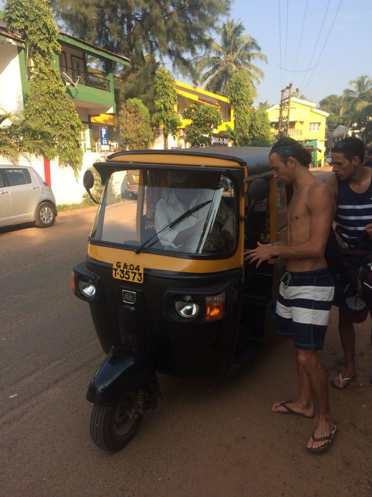 Tuk Tuk in Baga, Goa, India