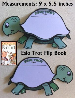 Esio Trot Lesson Plans and Teaching Resources Fun Turtle Writing Templates