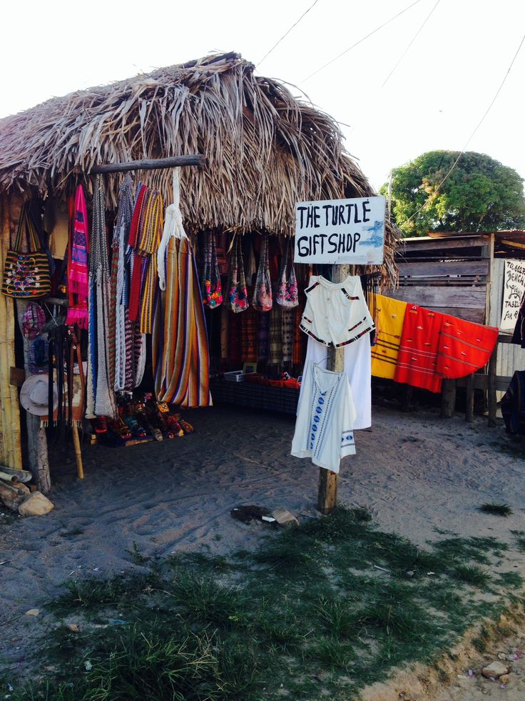 Mayan gift shop in Hopkins, Belize