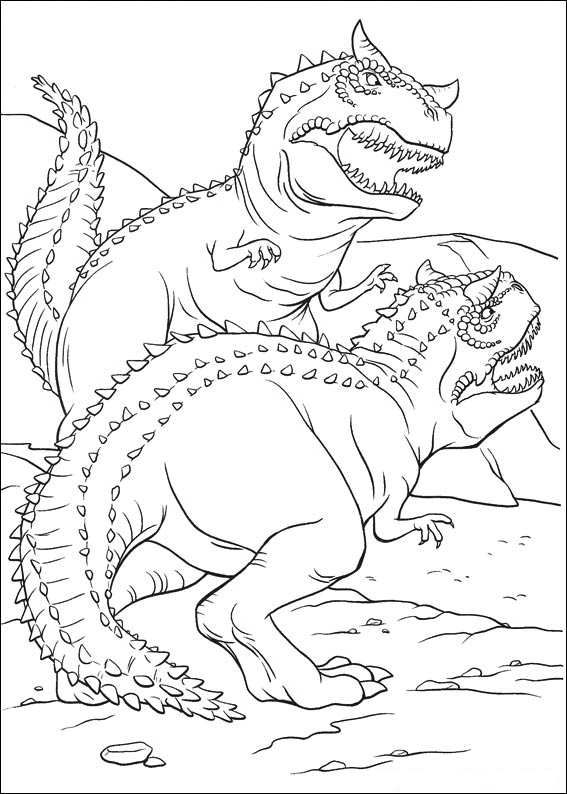 18 best coloring pages - dinosaurs images on Pinterest | Coloring ...