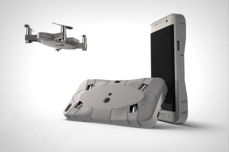 A Drone in your Phone! http://www.yankodesign.com/2017/03/06/selfly-a-drone-in-your-phone/ #Design #Photography