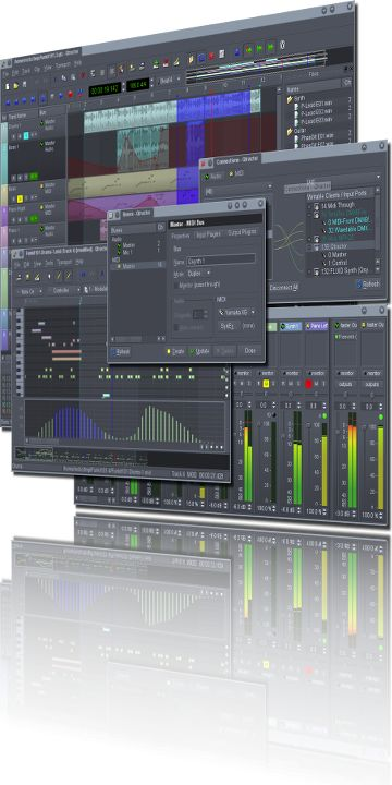 Awesome music creating Software. Qtractor on-board!