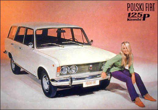 Polski Fiat 125p Kombi :),