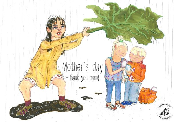 Mother´s day on Behance  Mother´s day - she will do anything for her kids.