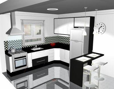 cozinha americana planejada 5