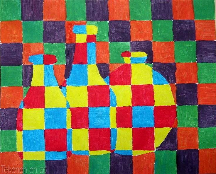 Tekenen en zo: Oefening in het mengen van kleuren