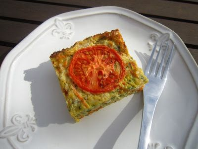 The Hangry Chef: Anna-Maria's Zucchini Slice
