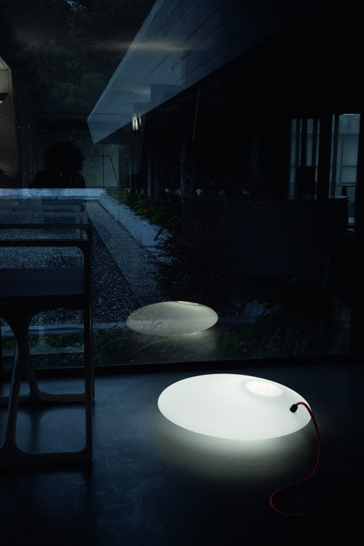 Glou Glou Pol by Emiliana Martinelli, a charming standing lamp for indirect lighting