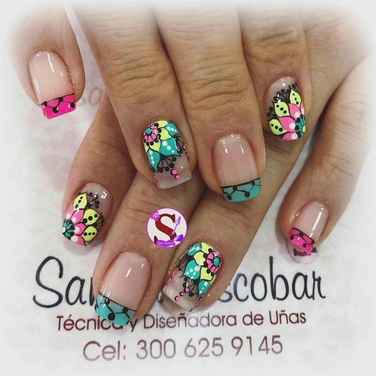 Mejores 84 imágenes de Arte De Uñas en Pinterest   Arte de uñas ...
