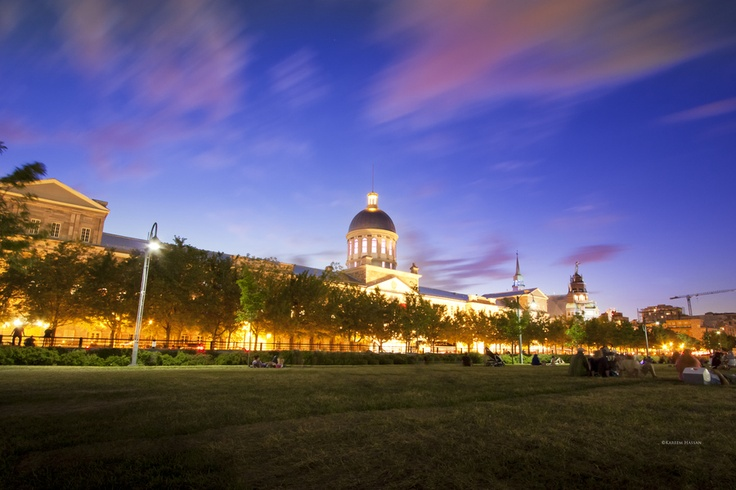 Marche Bonsecours in Montreal
