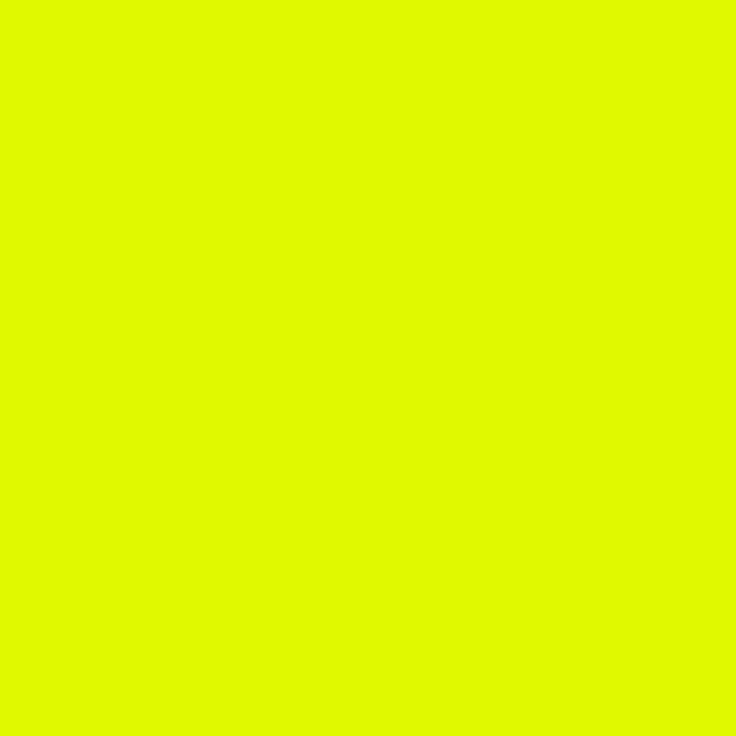 Gabardine fluo geel
