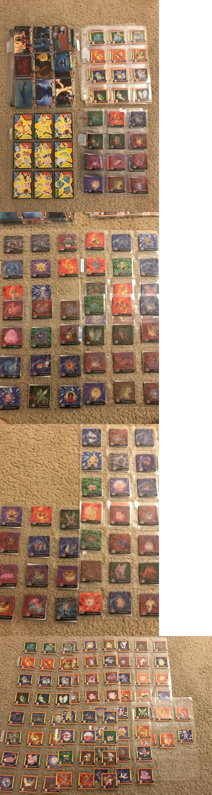 Pok mon Complete Sets 104046: Huge Pokemon Topps Artbox Card Sticker Collection Original 151 Complete Sets Etc -> BUY IT NOW ONLY: $95 on eBay!