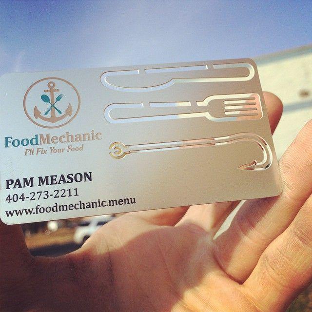 147 best metal business cards images on pinterest metal business the best metal business cards reheart Images