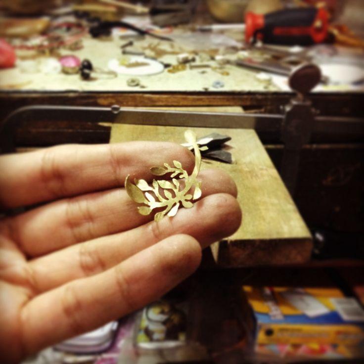 Little branch, brass