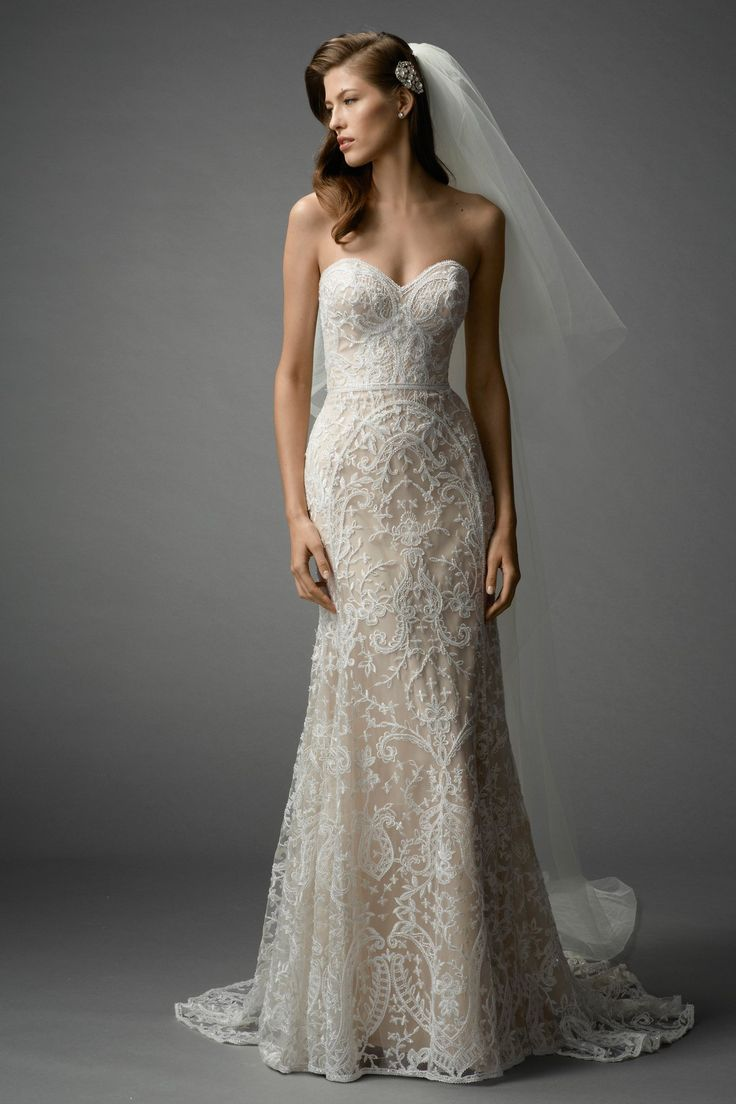 Watters Brides Nyra Gown -- I think this is my favorite of them all.  But it's probably too A-line...no good for my short legs :(