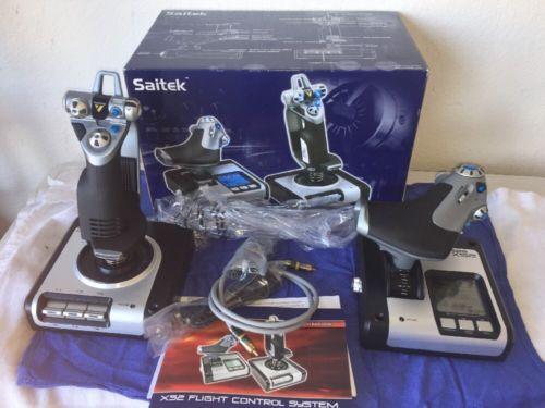 Saitek X52 Pro Game Controller Flight Control System Joystick Throttle Simulator: $119.00 End Date: Thursday Mar-22-2018 14:03:31 PDT Buy…