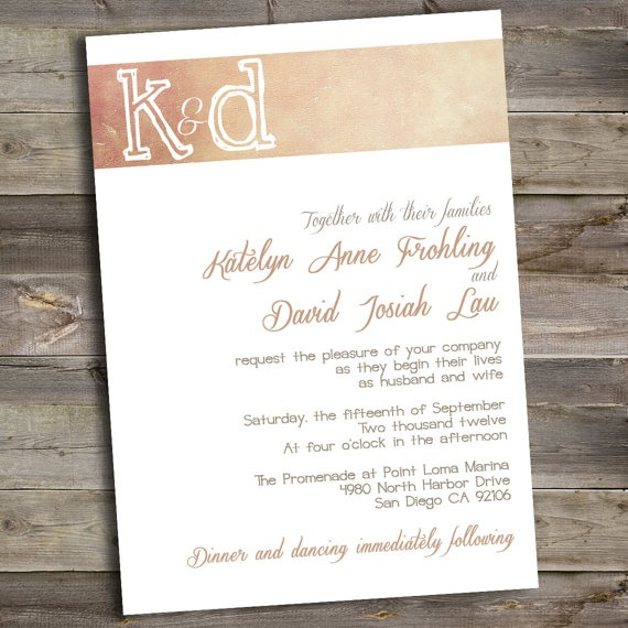 21 Best Images About Wedding Invitations On Pinterest