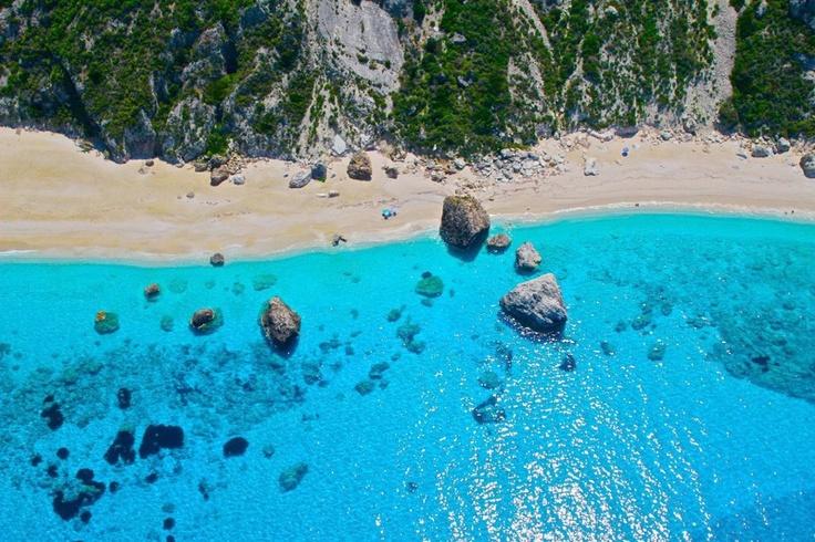 Leukada island-Kathisma beach http://www.house2book.com