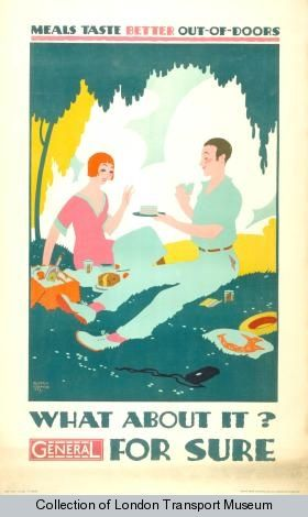 by Austin Cooper, 1928 - Poster and Artwork collection, London Transport Museum