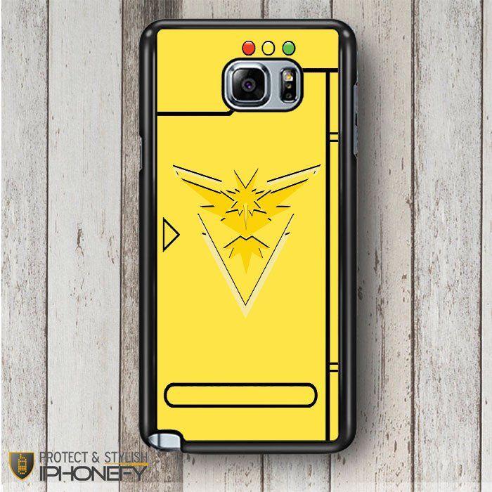 Pokemon Go Team Instinct Pokedex Samsung Galaxy Note 4|5 Case|iPhonefy