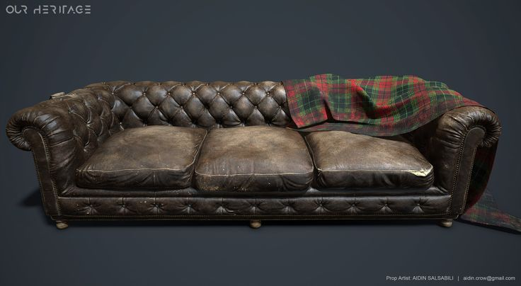 "ArtStation - Sofa - Project ""Our Heritage"", Aidin Salsabili"