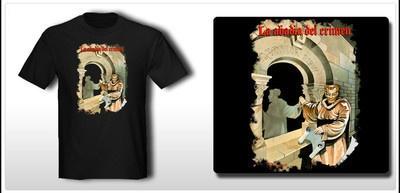 Camiseta Game T-shirt LA ABADIA DEL CRIMEN Amstrad Spectrum C64 MSX - S M L...