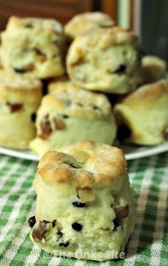 These are the easiest fruit scones that you will ever make!