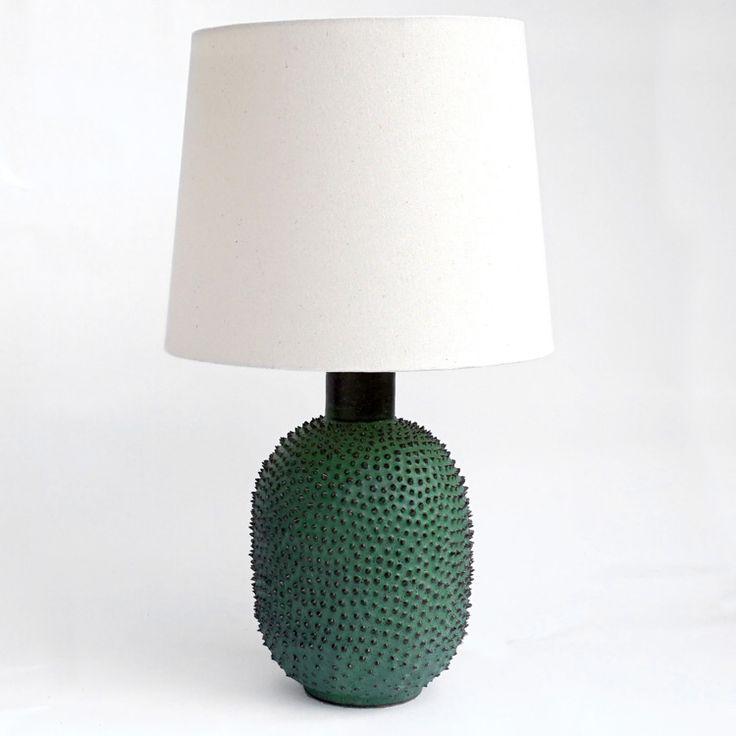 Cast a breadfruit into a lamp base