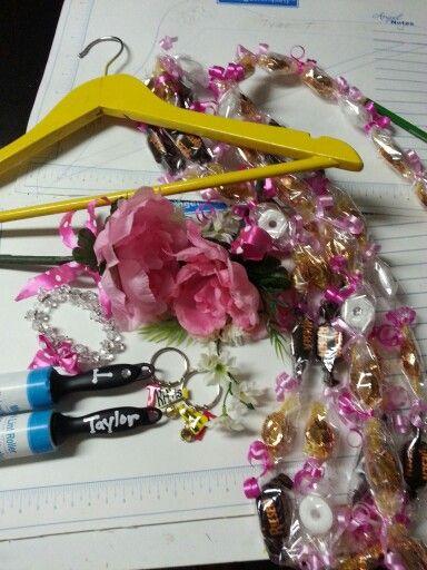 Cheerleading spirit gifts, unfinished hanger