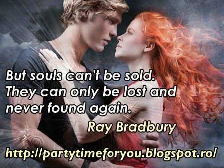 Party time: But souls can't be sold.They can only be lost and ...