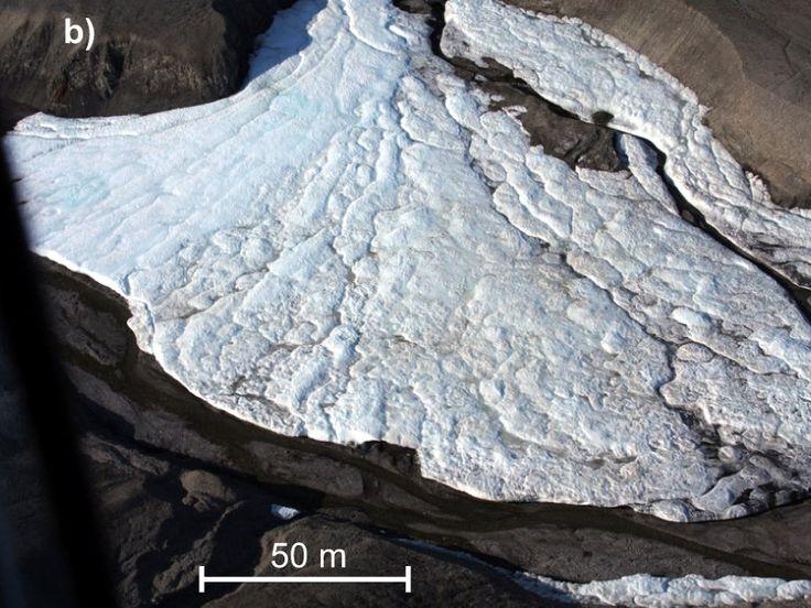 Überraschung in der kanadischen Arktis: Geologen haben die nördlichste Quelle der Welt entdeckt. Aus tiefgefrorenem Boden strömt Wasser. Die Wissenschaftler stehen vor einem Rätsel. – Evelina