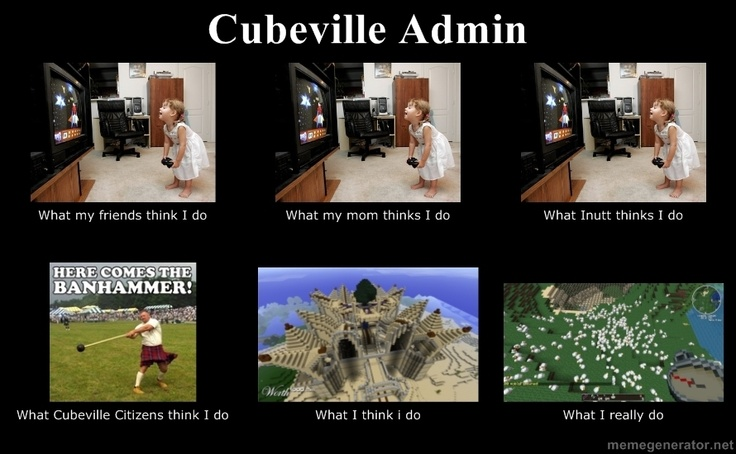 Cubeville Admin - By MrVcuber (LOL)