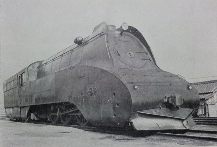 C53 2C1形3気筒過熱テンダ機関車