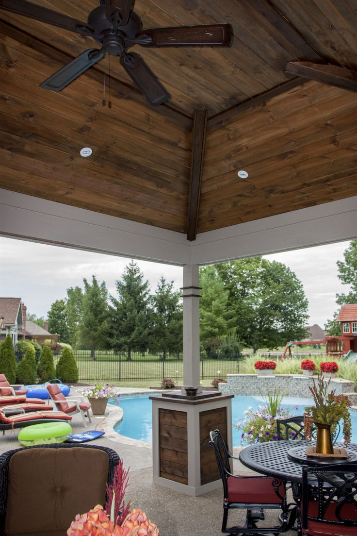 outdoor pavilion ceiling by vive exterior design outdoor
